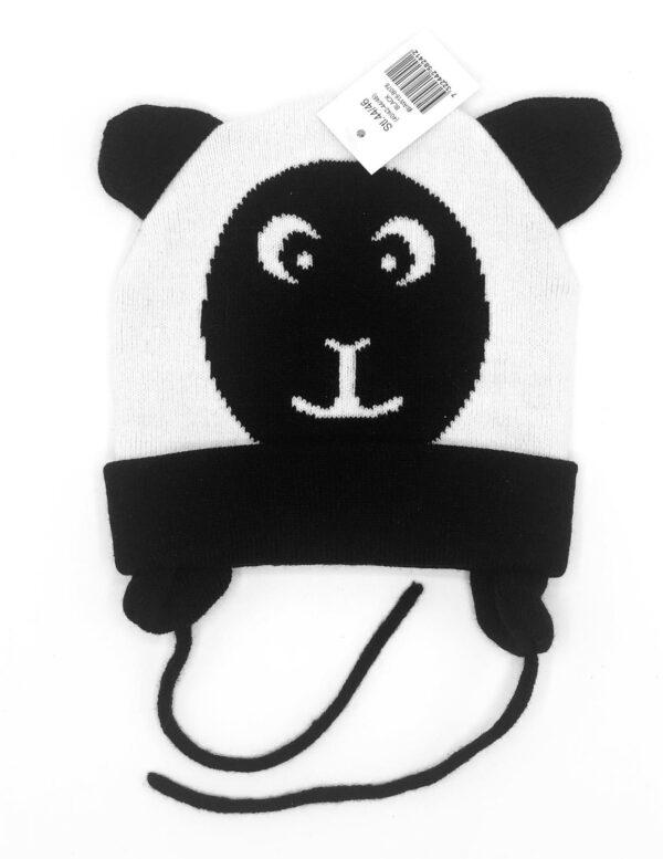 Bebispresent - Mössa panda stl 44/46 (ålder 4-9 mån)