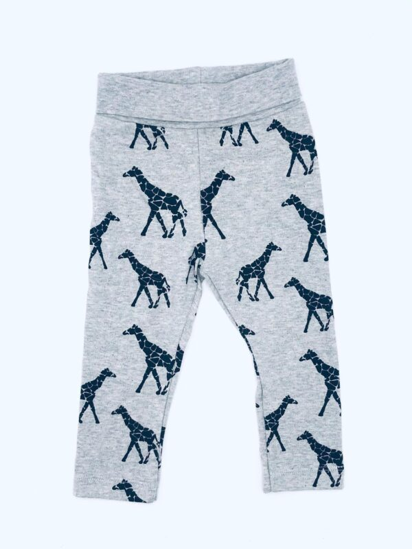 Leggings med giraffer stl 80