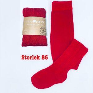 """Röda strumpbyxor """"Tiny One"""" stl 86, jul"""