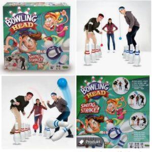 Bowling Head - spel från 6 år