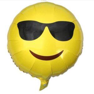 Stor Emoji ballong (helium eller luft) FRI FRAKT