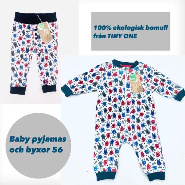 Pyjamas och byxor storlek 56