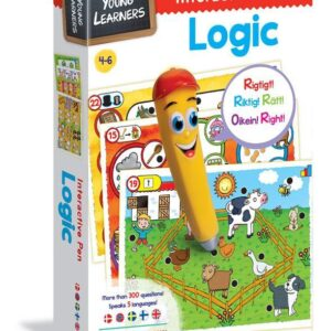 Interactive Pen Logic - spel 3-5 år