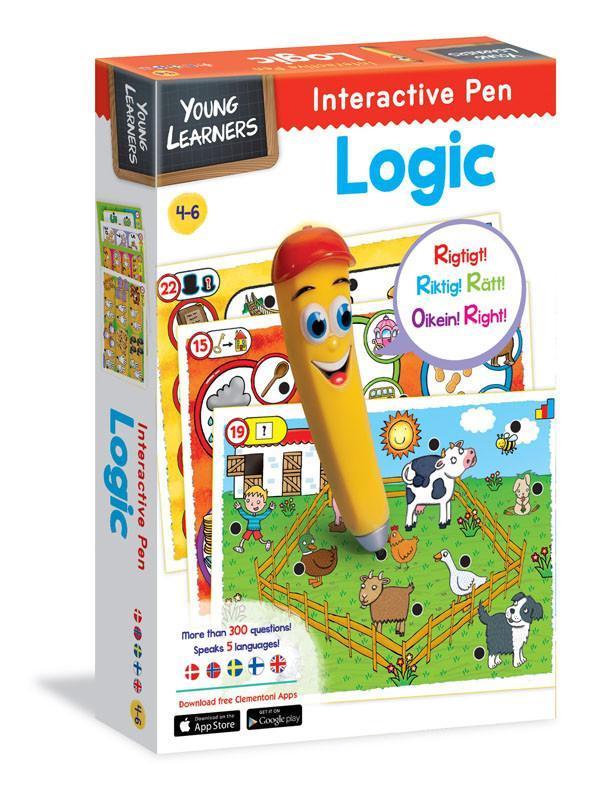 Interactive Pen Logic - spel 3-5 år
