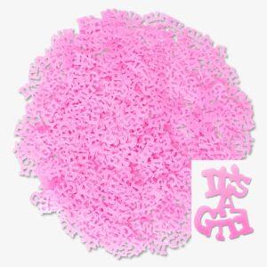 """Babyshower - """"Its a girl"""" konfetti 35 gram - FRI FRAKT"""