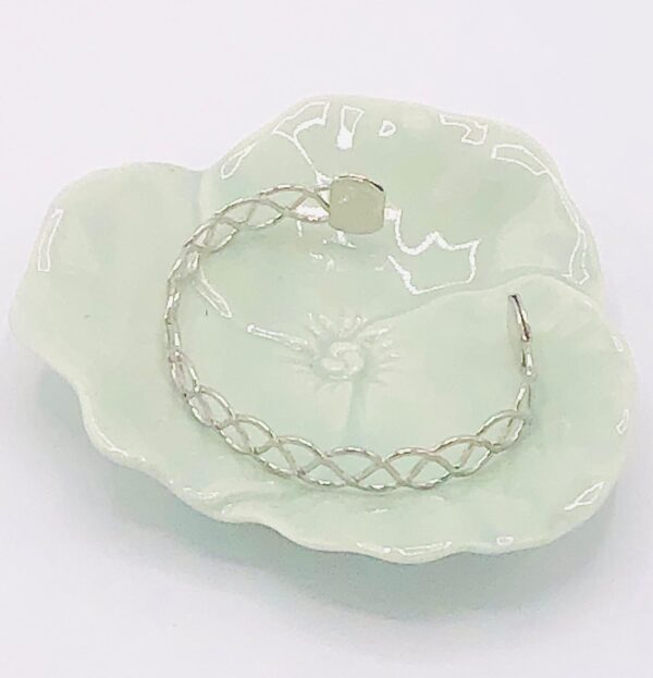 Presentpåse - fat med silverarmband