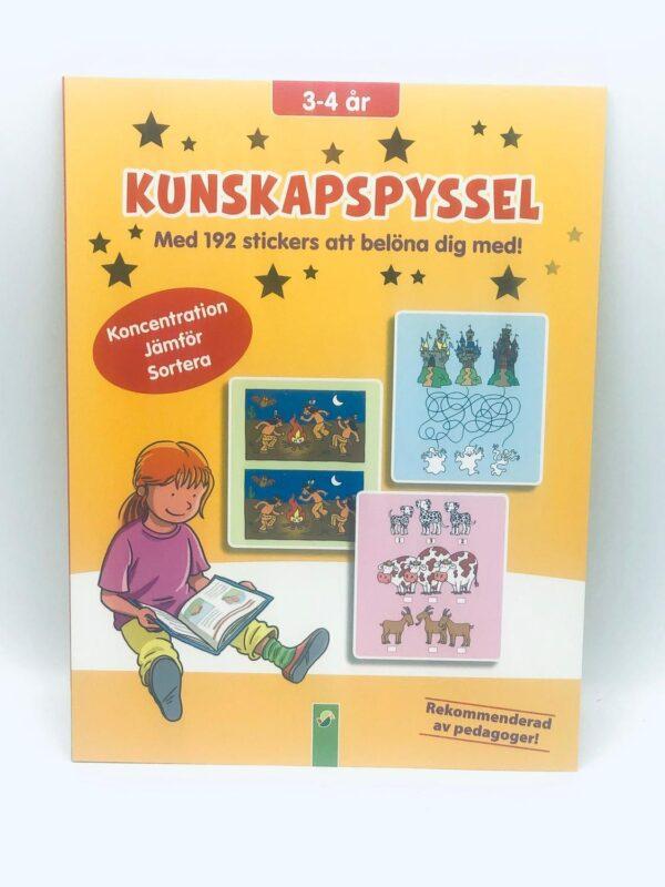 """Present - """"Kunskapspyssel"""" 3-4 år (Fri frakt)"""