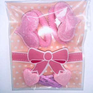 Presentpåse: Hårlämmor och totteband (fri frakt)