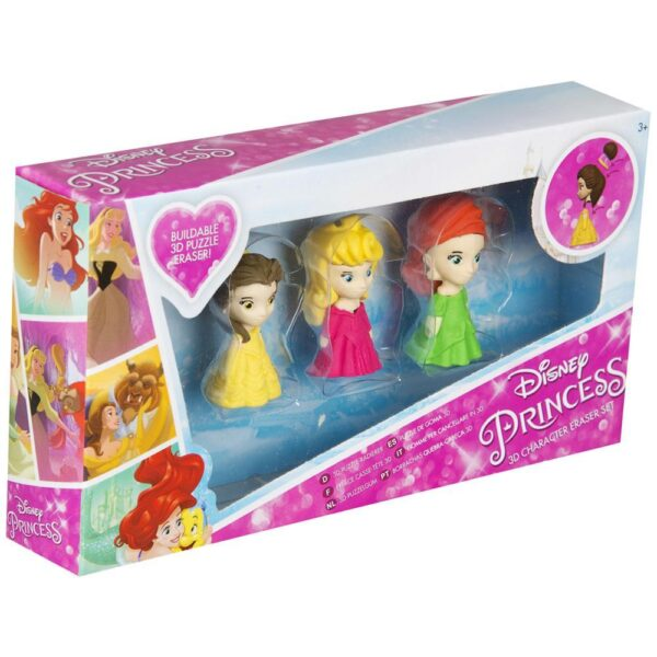 Presentask - Disney Princess 3D suddigummi pussel