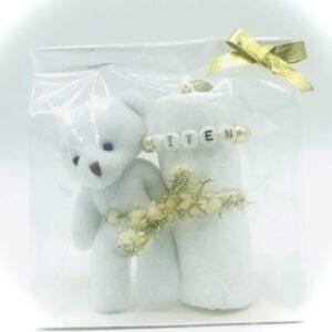 Startpaket mini bebis - Vit/guld