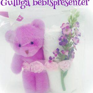 Startpaket mini bebis - Lila