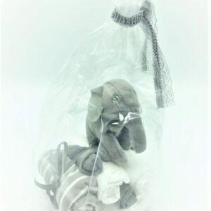 Startpaket bebis - blöjtårta Grå/silver