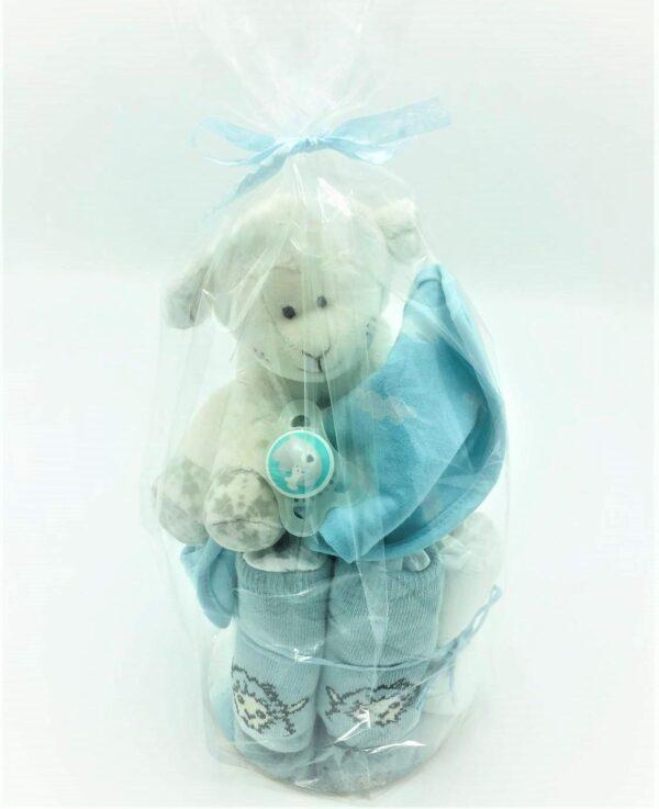 Startpaket bebis - blöjtårta Turkos