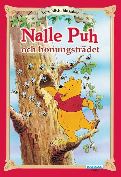 """Presentpåse - Bok """"Nalle Puh och honungsträdet"""""""