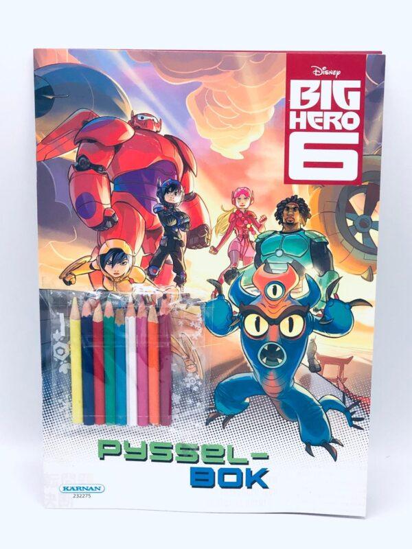 Disney Big Hero 6 pysselbok inkl 9 färgpennor