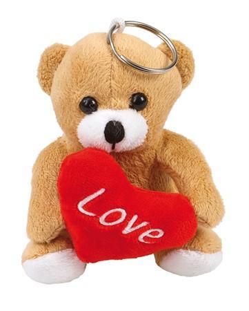 """Alla hjärtans dag - Plush Bear """"LOVE"""" 10 cm"""