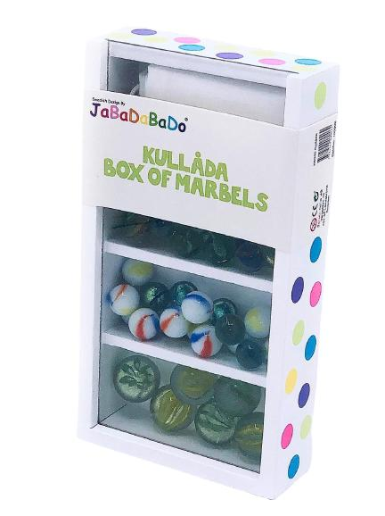 Jabadabado Kullåda / box of marbels
