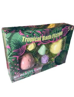 Tropical Bath Fizzer 5 st (badbomb)